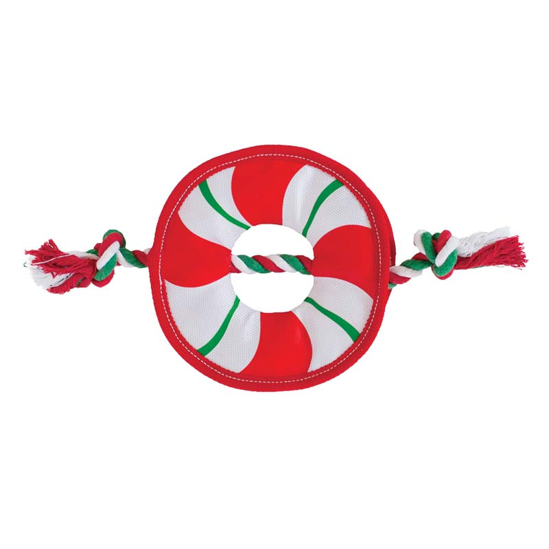 Outward Hound Durable Rope Wreath Tug for Dogs