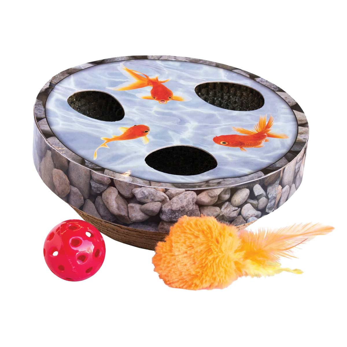 Outward Hound Hide & Seek Wobble Pond Cat Toy at Ryan's Pet Supplies