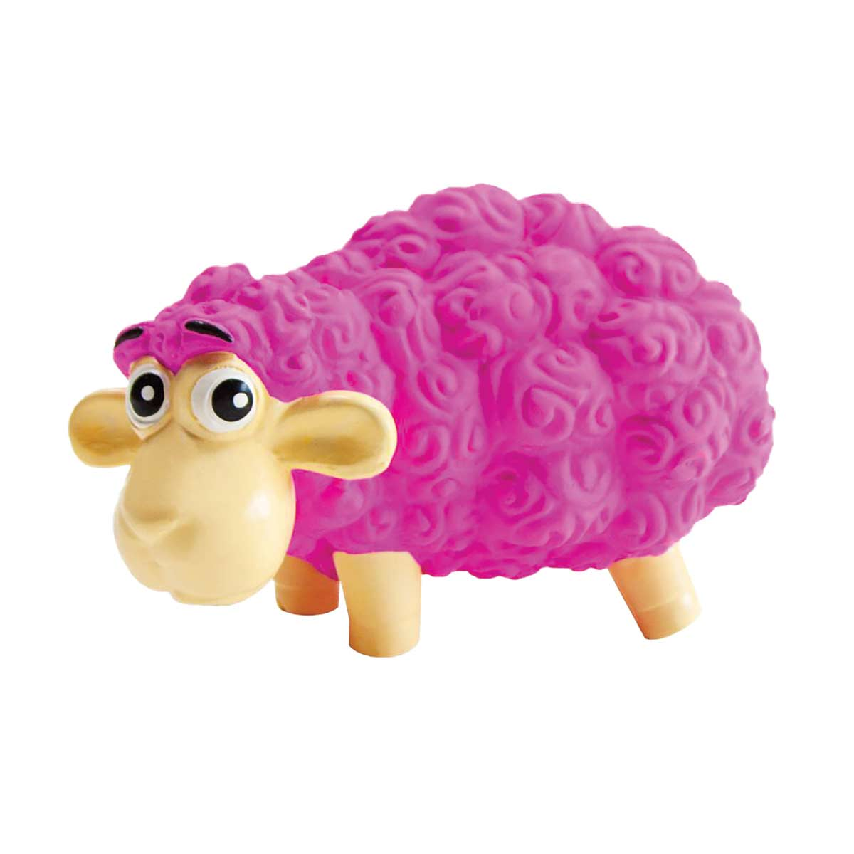 Outward Hound Tootiez Pink Sheep 6.5""