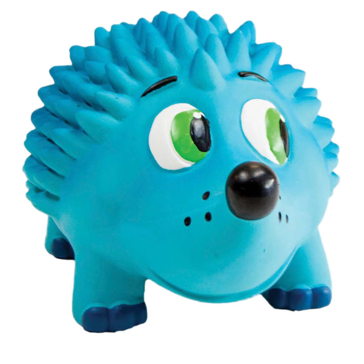"9.5"" Outward Hound Tootiez Hedgehog Blue - Unique Dog Toy"
