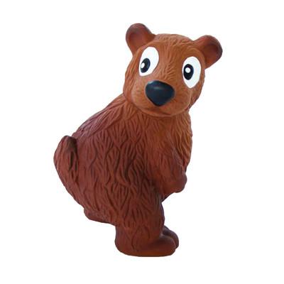 Outward Hound Tootiez Bear Brown 9 inch Dog Toy