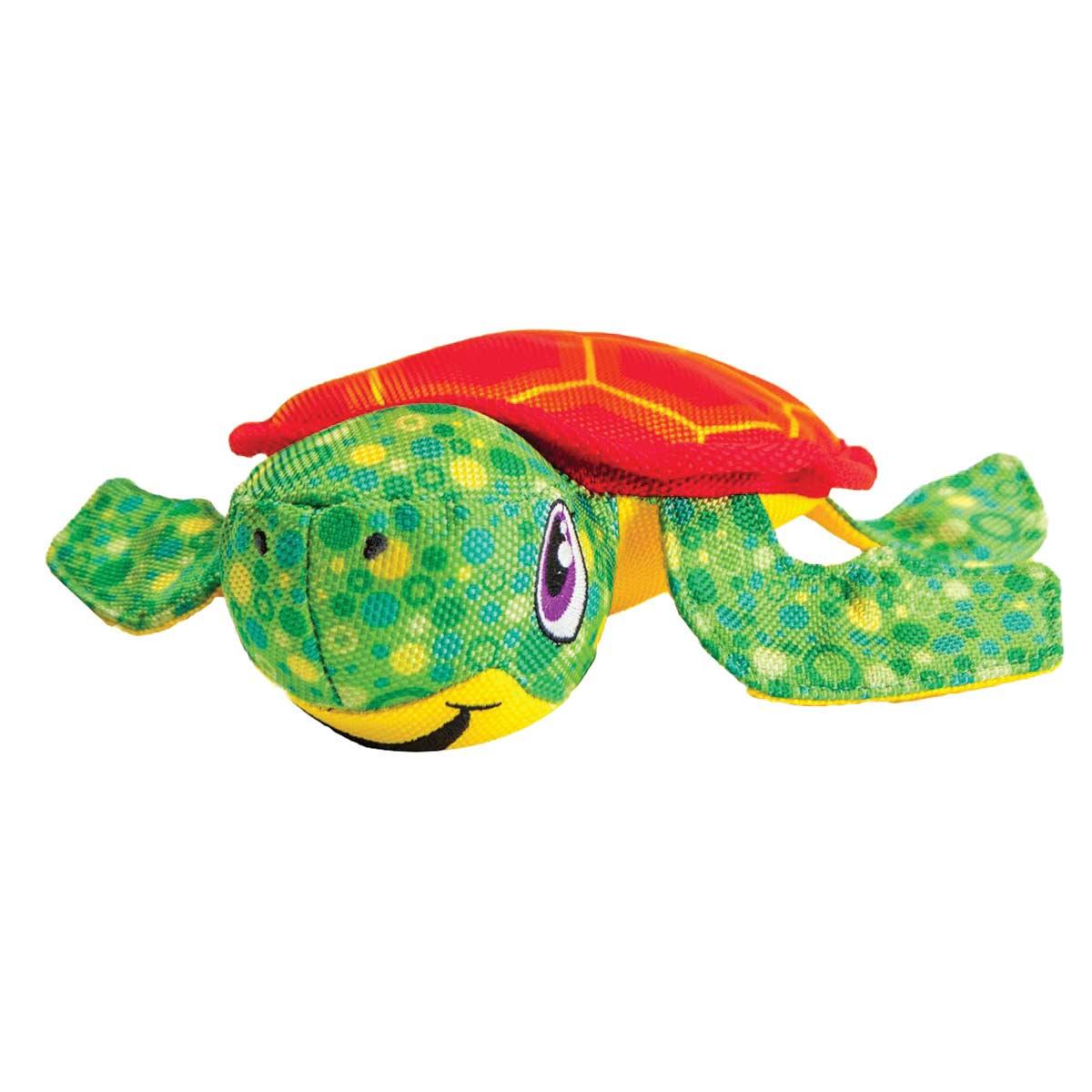 12 inch Outward Hound Floatiez Squeaky Turtle - Dog Water Play