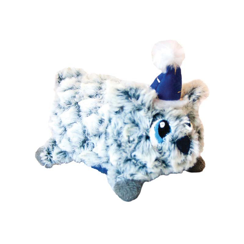 Large Outward Hound Fatties Holiday Polar Bear Dog Toy at Ryan's Pet Supplies
