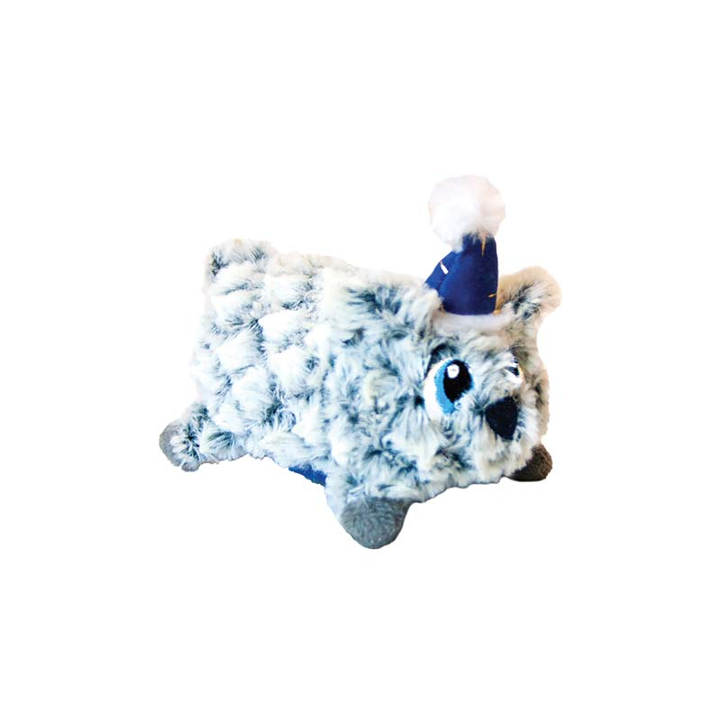 Small Outward Hound Fattiez Holiday Polar Bear Dog Toy at Ryan's Pet Supplies