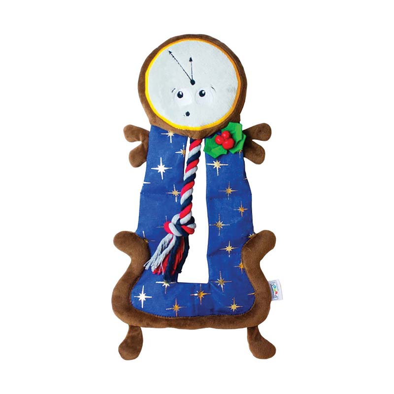 Outward Hound Squeaker Matz Clock Tower Dog Toy at Ryan's Pet Supplies