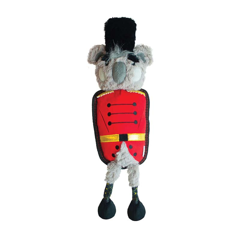 Outward Hound Tough Seamz Koala Nutcracker Dog Toy at Ryan's Pet Supplies