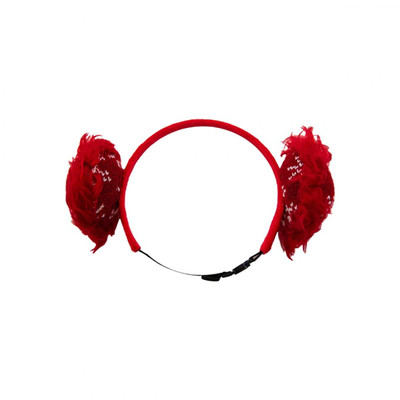 Medium Outward Hound Holiday Earmuffs for Dogs