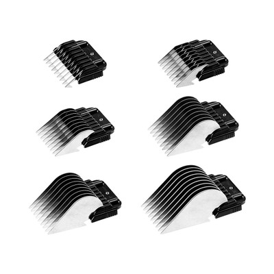 Heiniger Stainless Steel Snap-On Combs for use with Heiniger Opal Clipper
