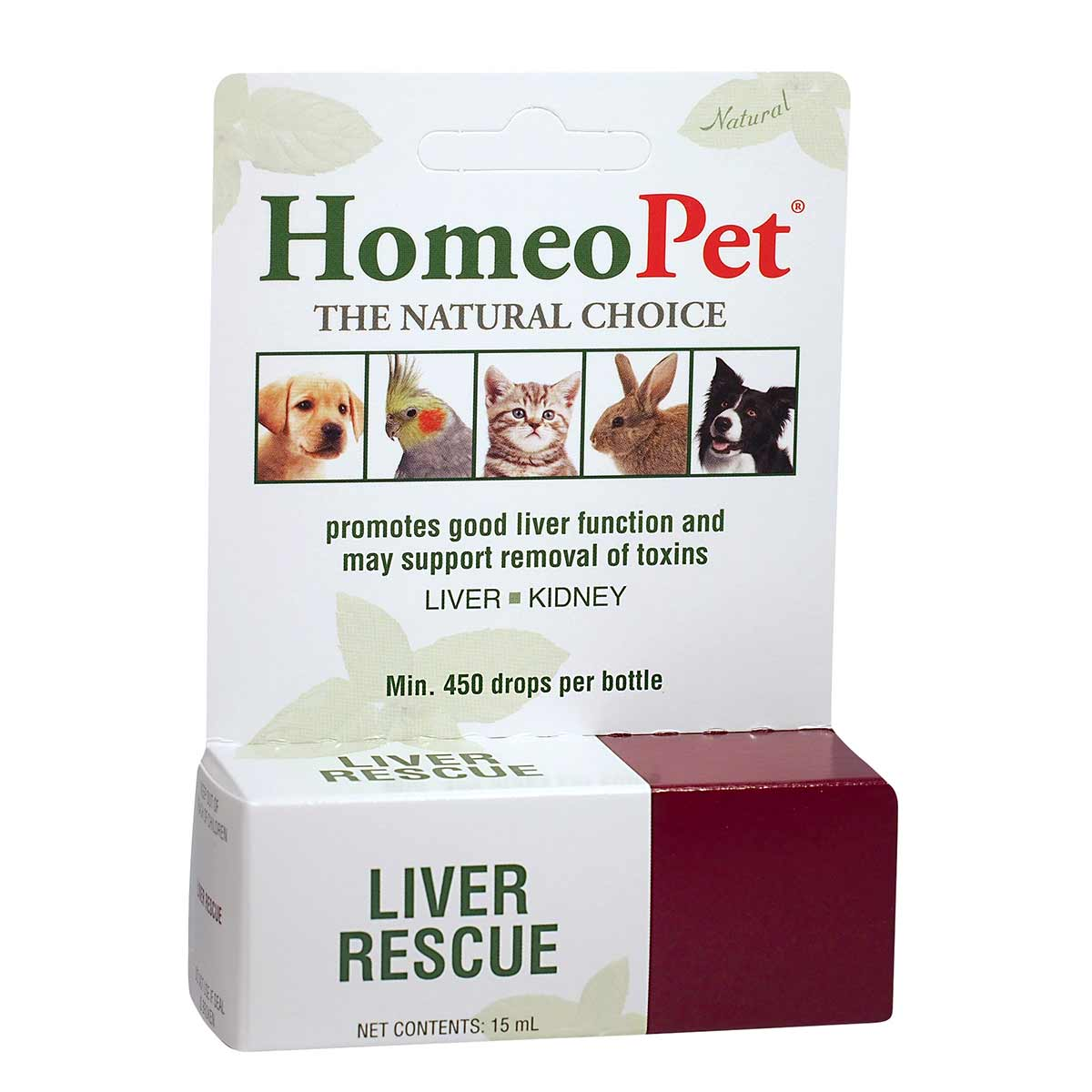 Natural HomeoPet Liver Rescue Treatment for Pets