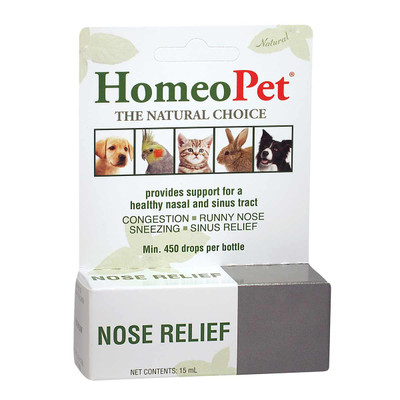 HomeoPet Nose Relief for Pets