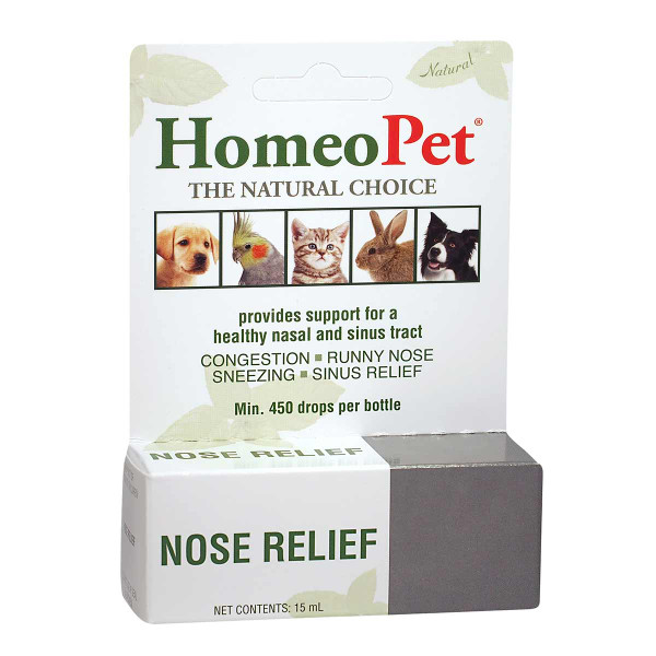 Homeopet Nose Relief Supplement