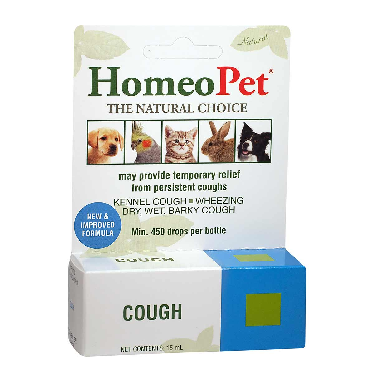 HomeoPet Cough Natural Supplement for Pets