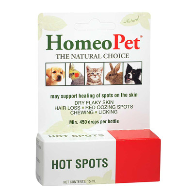HomeoPet Hot Spot supplement for pets
