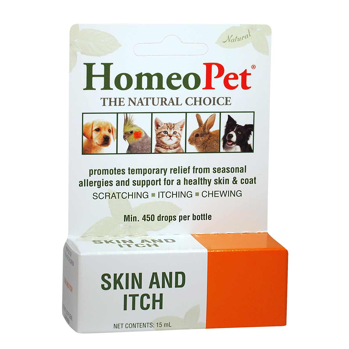 HomeoPet® Skin and Itch Relief for Dogs, Cats and Small Mammals