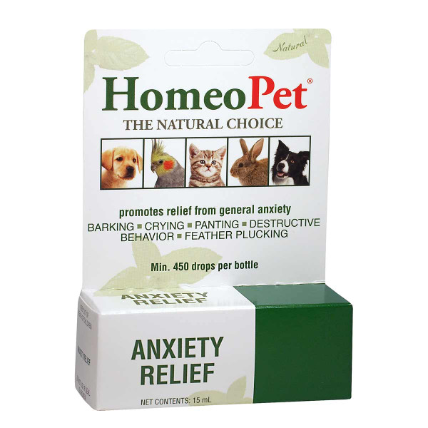 Natural HomeoPet Anxiety Relief for Dogs
