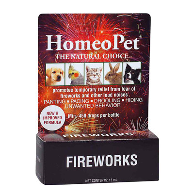 HomeoPet Fireworks pet supplement