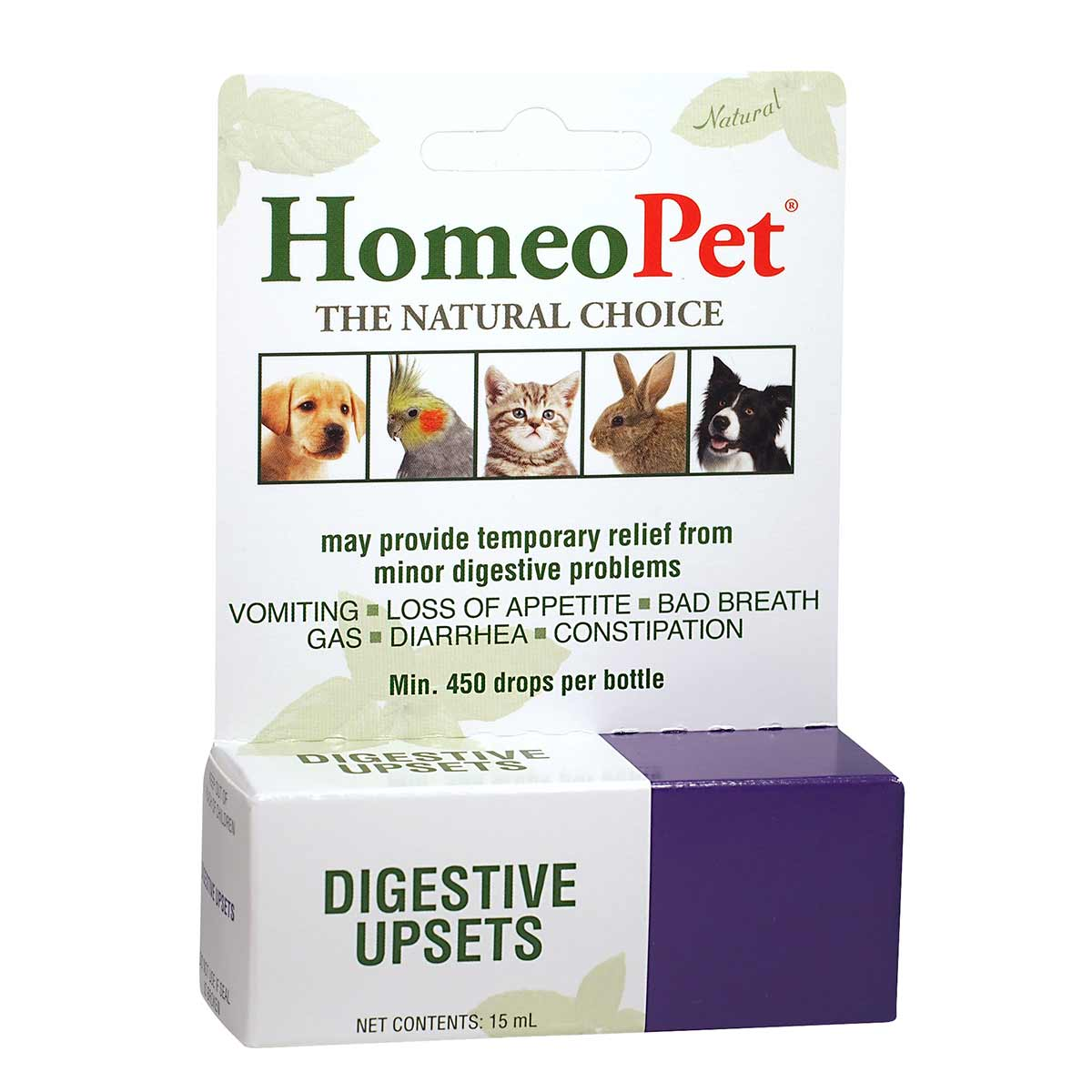 HomeoPet® Digestive Upsets Natural Aid for Pets