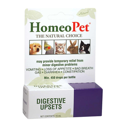 HomeoPet Digestive Upsets supplement for pets
