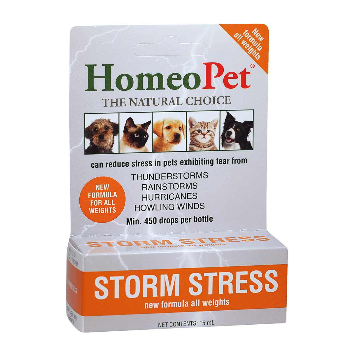 Natural HomeoPet® Storm Stress K-9 Anxiety Relief for Dogs