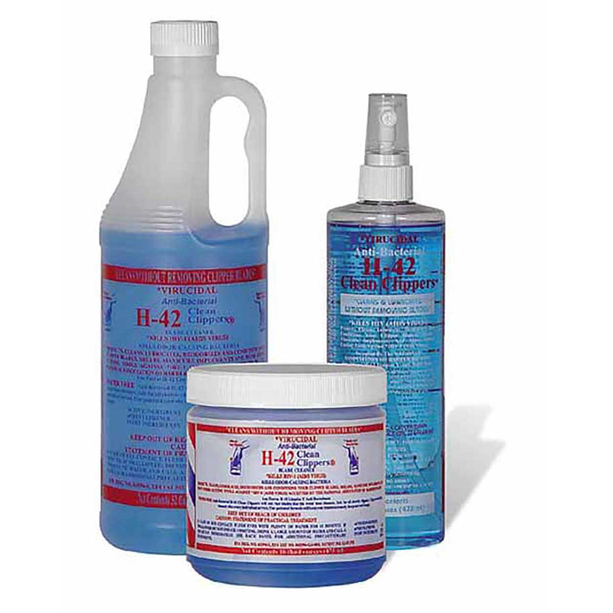 Virucidal Anti-Bacterial H-42 Clean Clippers 128oz/1 Gallon