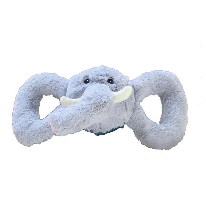 Medium Jolly Pet Tug-a-Mals Elephant Tug Toy