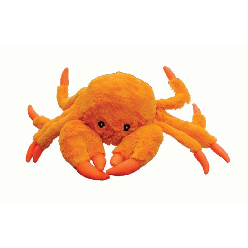 Small Jolly Pet Tug-a-Mals Crab Tug Toy for Dogs at Ryan's Pet Supplies
