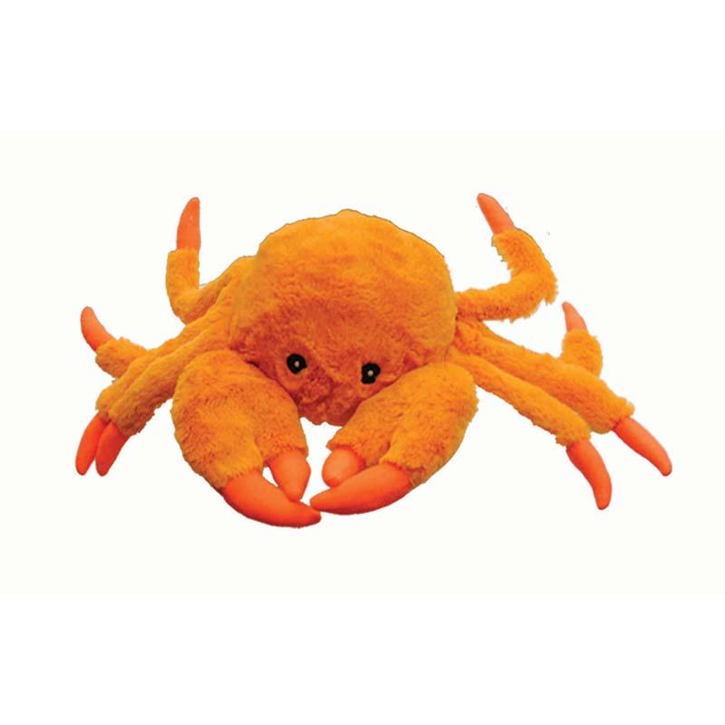 Medium Jolly Pet Tug-a-Mals Crab Dog Tug Toy