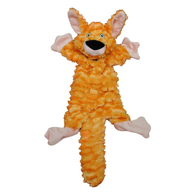 Fat Tails Stuffed Kangaroo Dog Toy from Jolly Pets