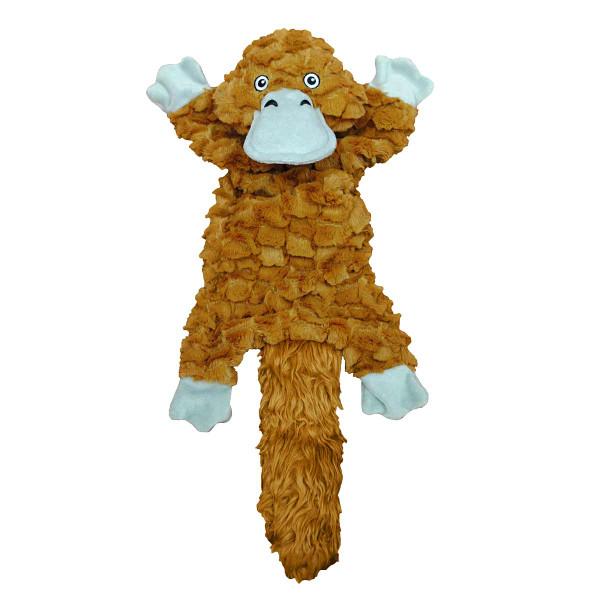 Platypus Jolly Pets Fat Tails Stuffed Dog Toy