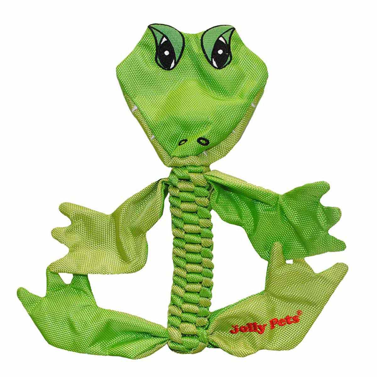 Medium Jolly Pet Animal Flathead Alligator Dog Toy at Ryan's Pet Supplies