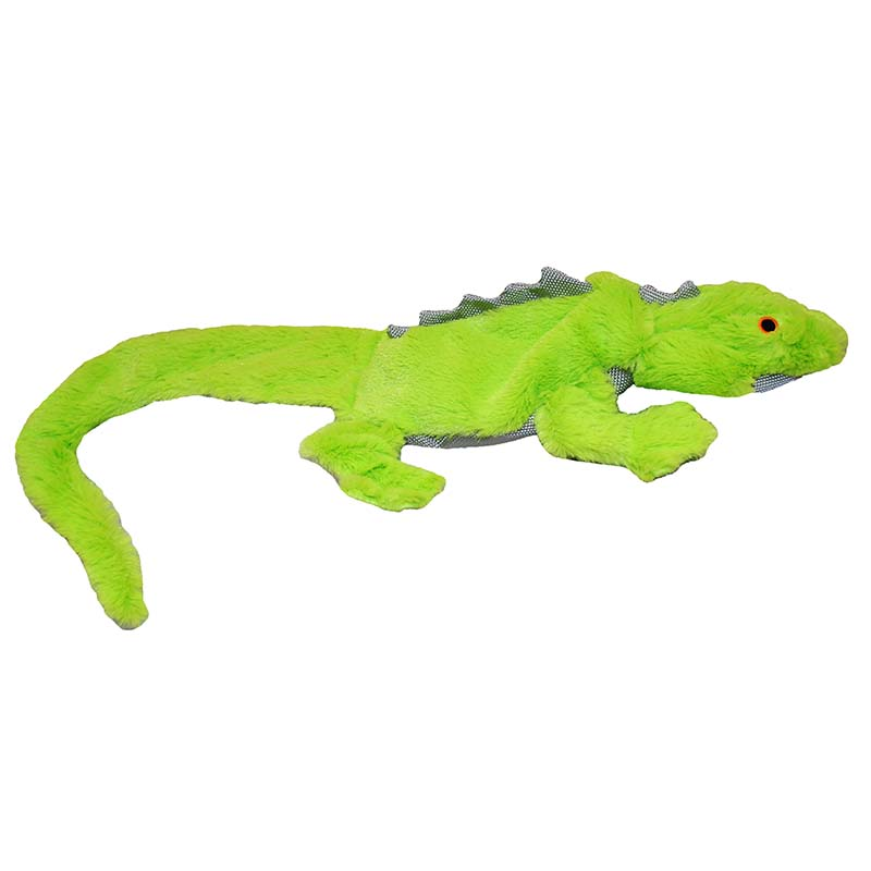 Green Jolly Pet Squeak-a-Mal Lizard Medium - Assorted