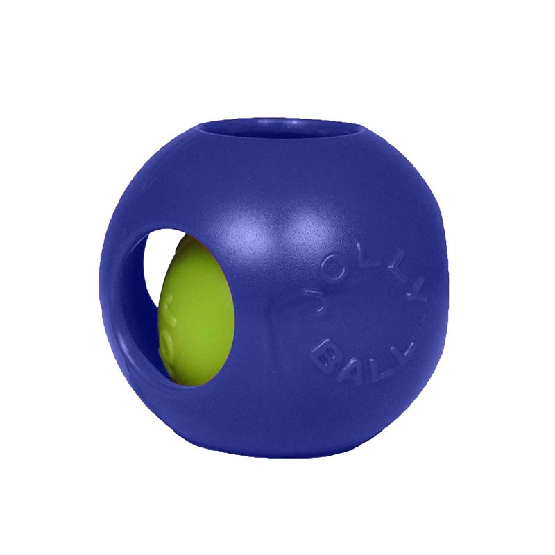 Large Blue Jolly Pet Teaser Ball Dog Toy at Ryan's Pet Supplies