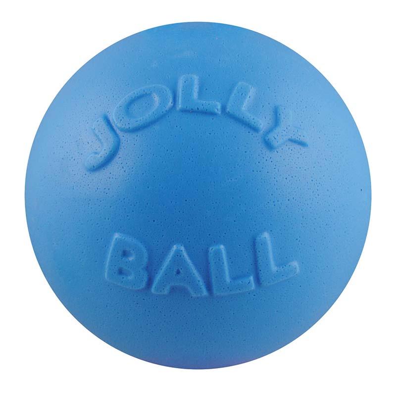 Medium Blue Jolly Pet Bounce-n-Play Ball at Ryan's Pet Supplies