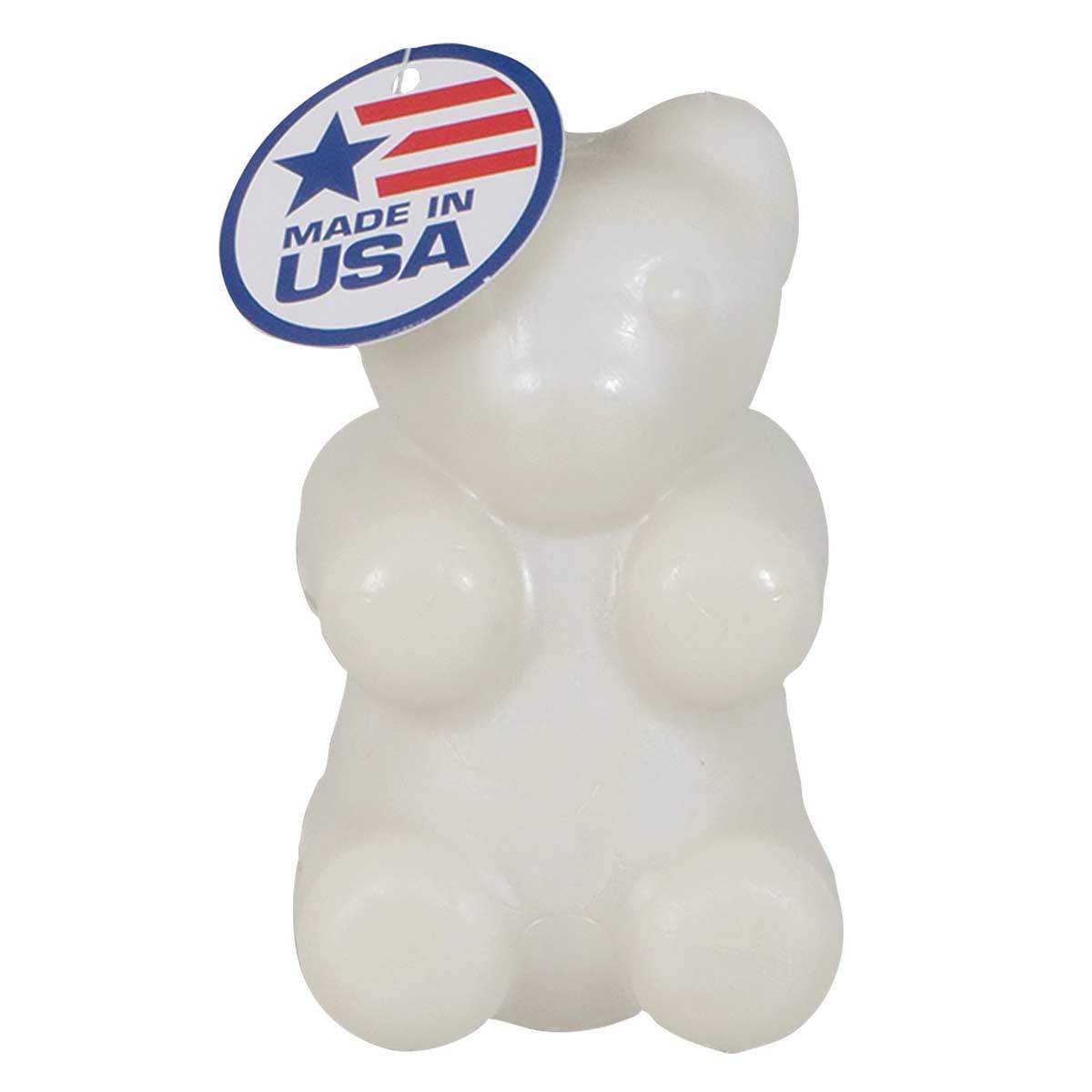 JW Megalast Glow Bear Medium Bounce Toy