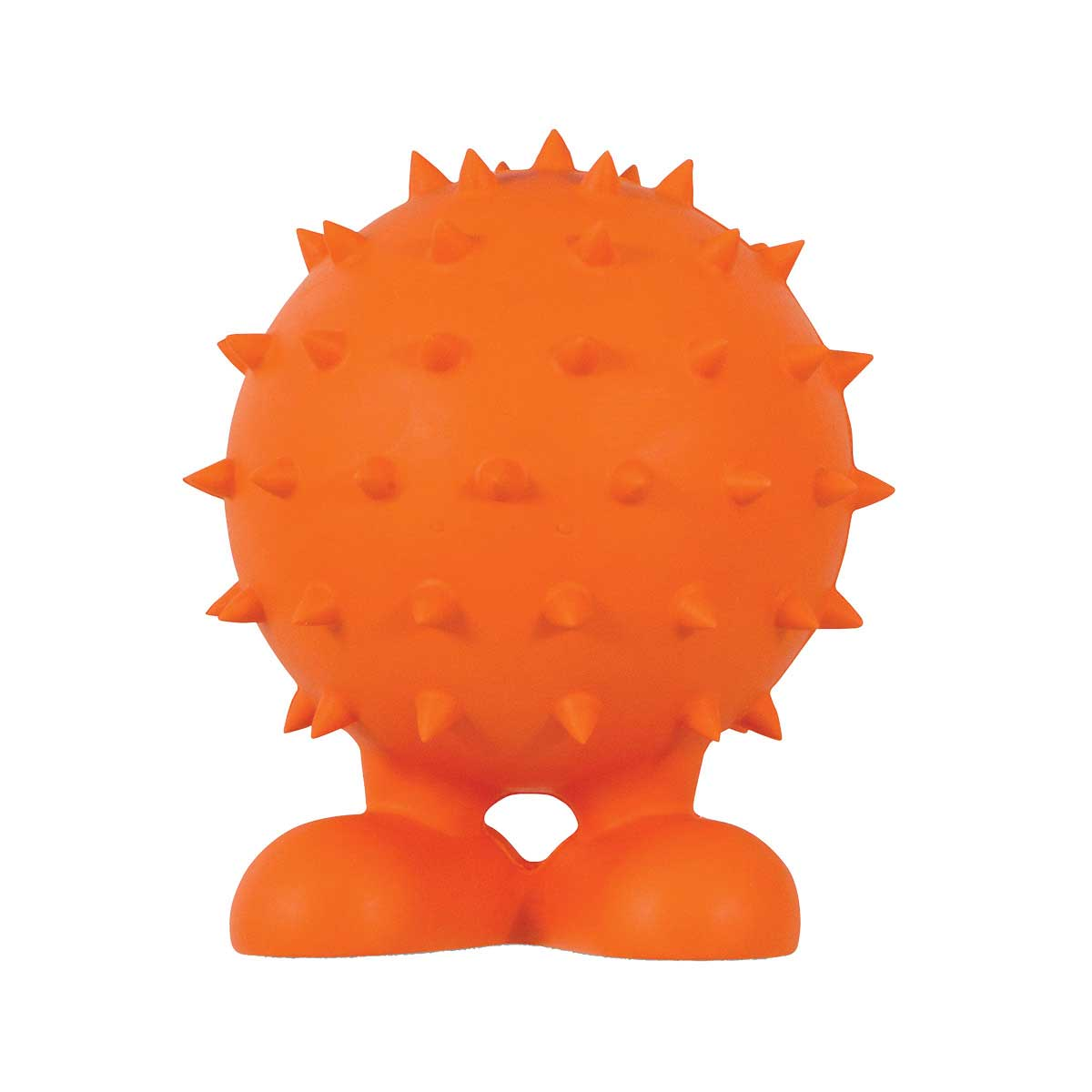 JW Spiky Cuz Large 5.5 inch Bounce Toy for Dogs - Rubber