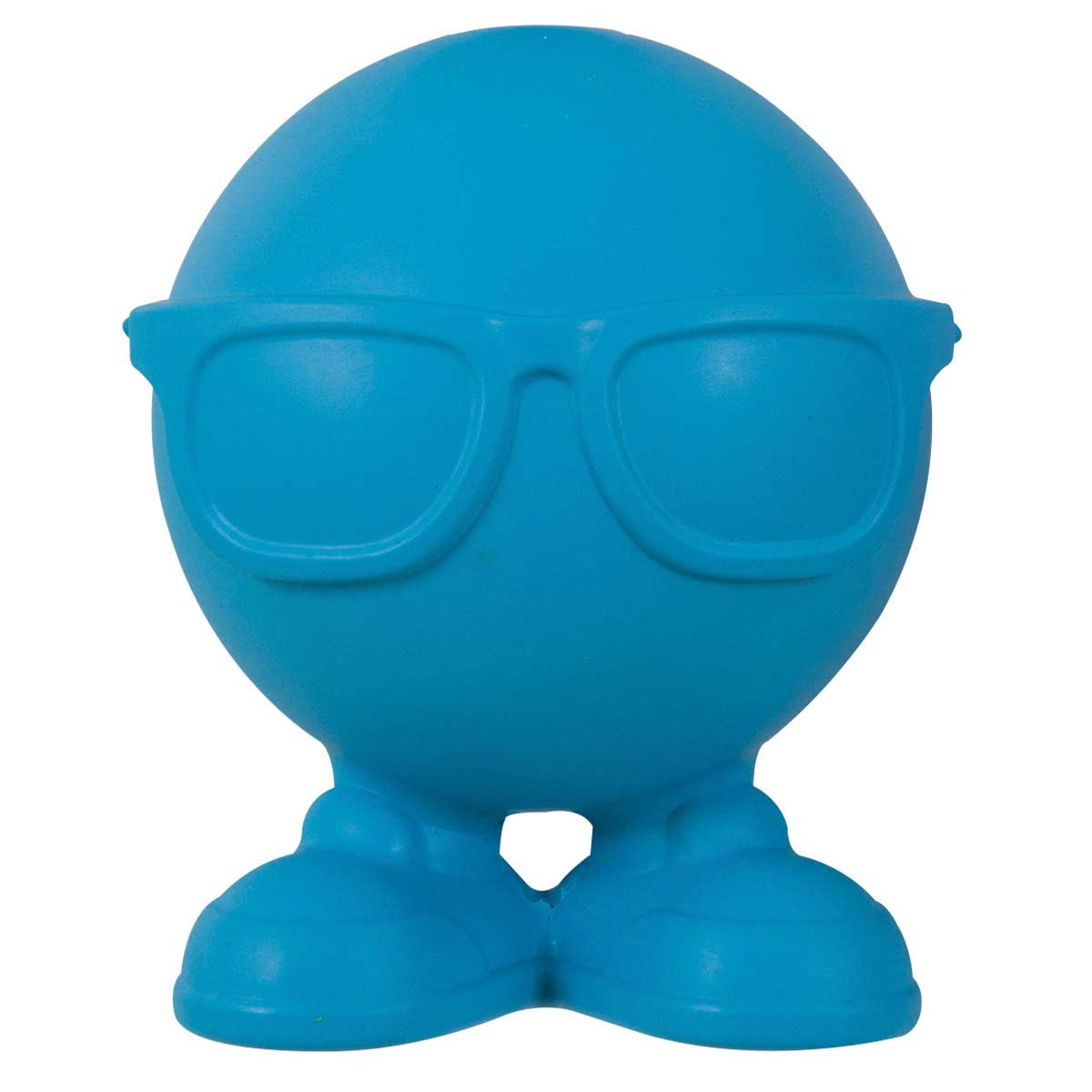 Medium 4 inch JW Rubber Hipster Cuz Bounce Toy
