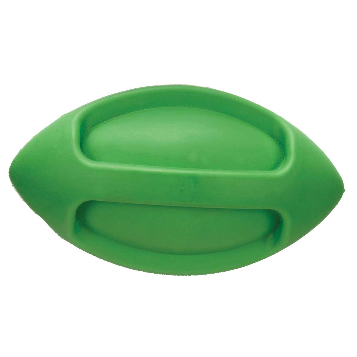 JW Isqueak Funble Football for dogs - Small 5.75""