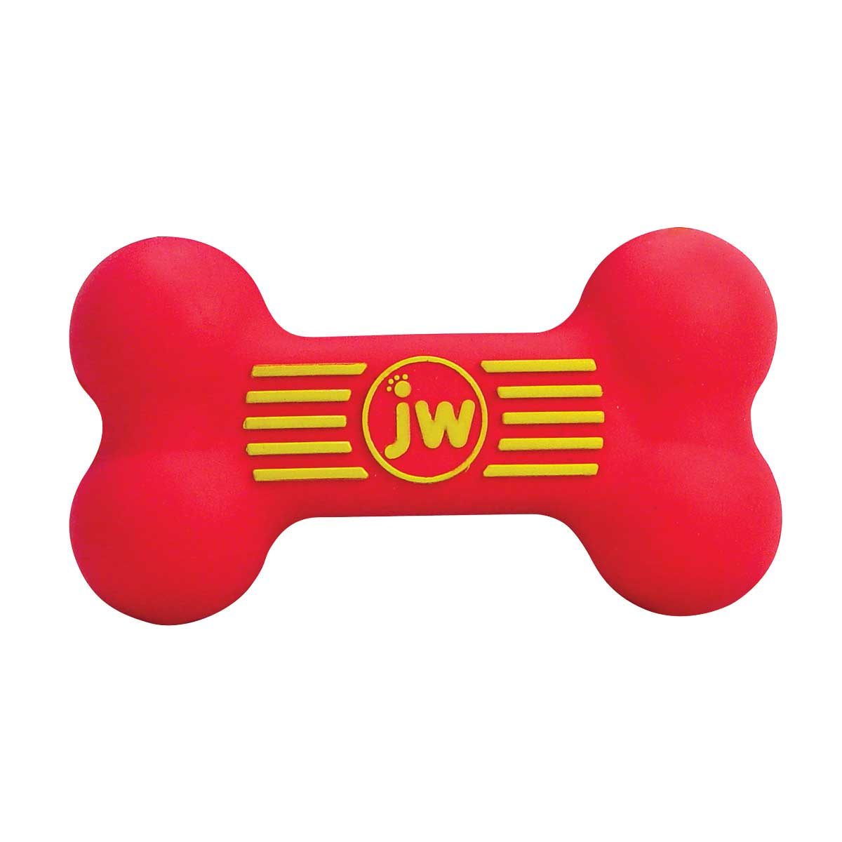 JW Isqueak Small Rubber Bone for Dogs