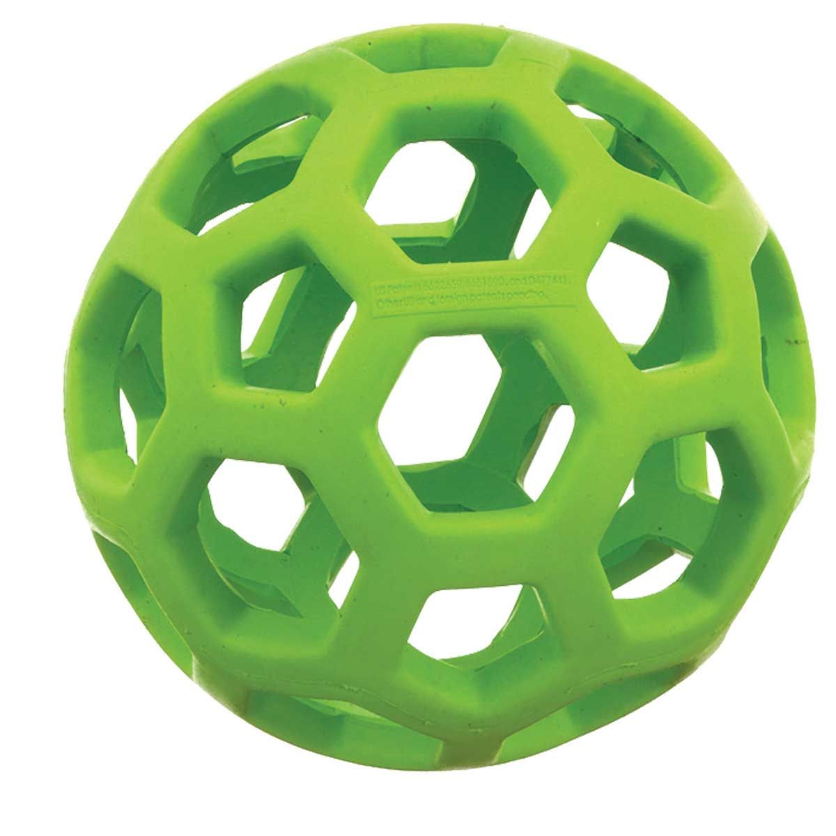 Assorted Colors JW Hol-ee Roller 5 inch Interactive Puzzle Treat Dispensing Toy for Dogs