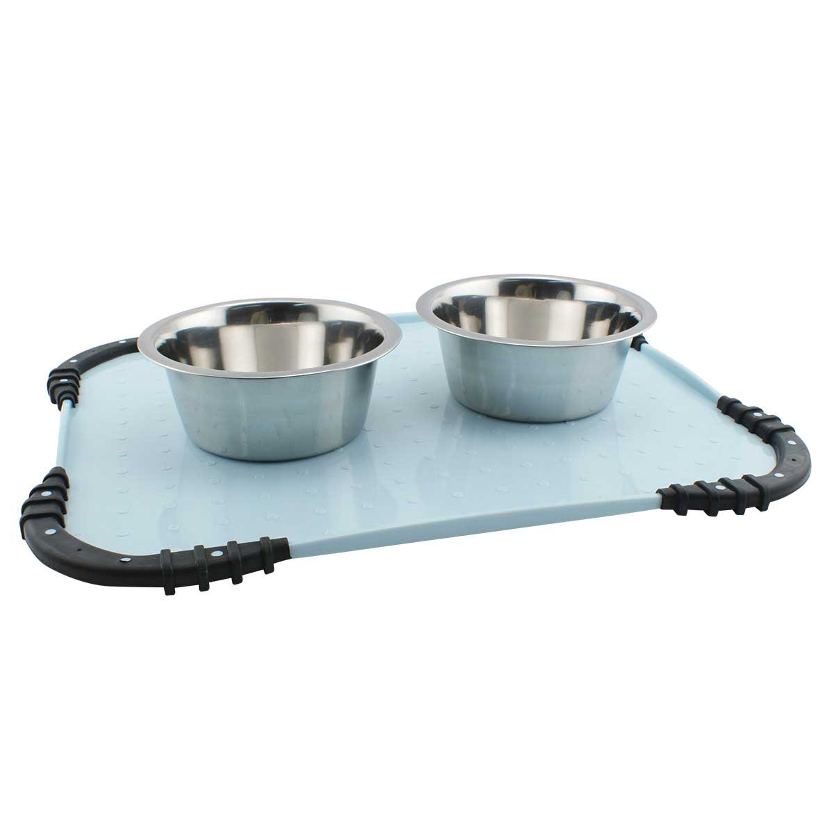 JW Stay In Place Mat for Food and Water Bowls