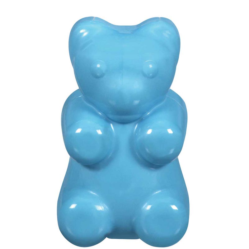 Large 4.5 inch JW Megalast Megabear Chew Toy for Dogs