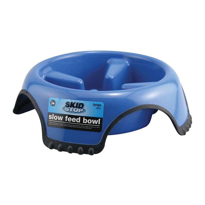 Medium JW Skid Stop Slow Feed Bowl