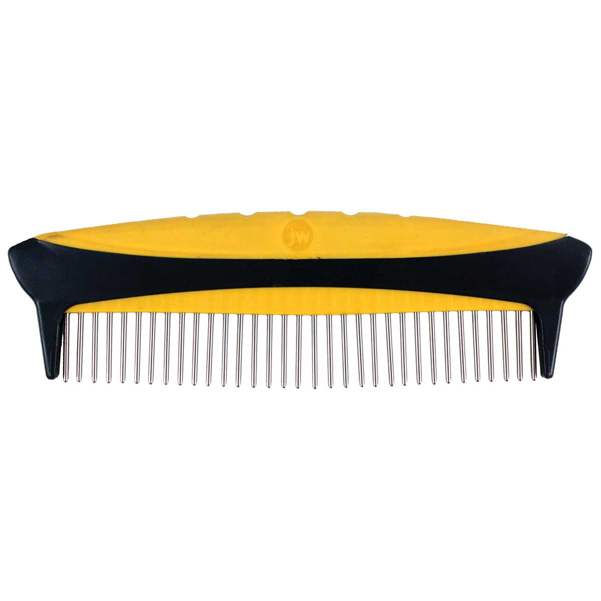 JW Rotating Tooth 8 inch Comfort Comb - Fine and Coarse
