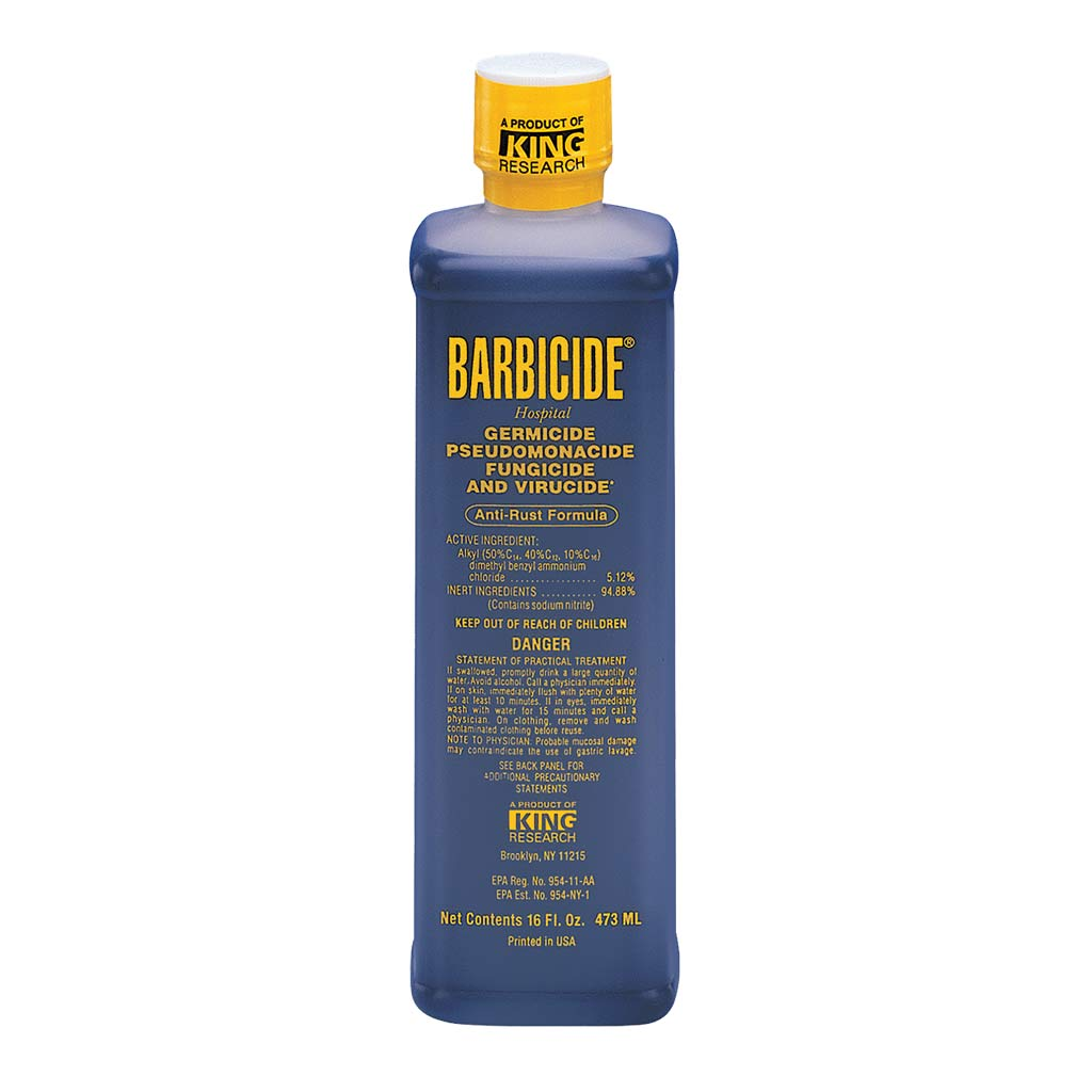 Barbicide - 16 oz - Sterilize grooming tools