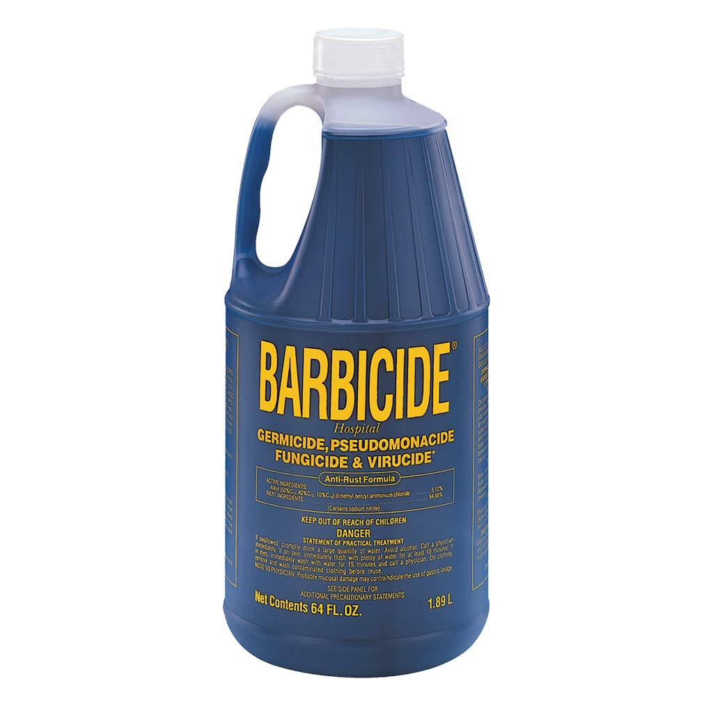 64 oz Barbicide for Sterilizing Pet Grooming Tools