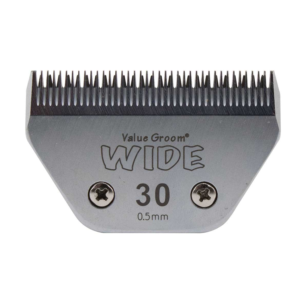 Value Groom Wide Blade #30W Close Cut 1/50 inch 0.5 mm
