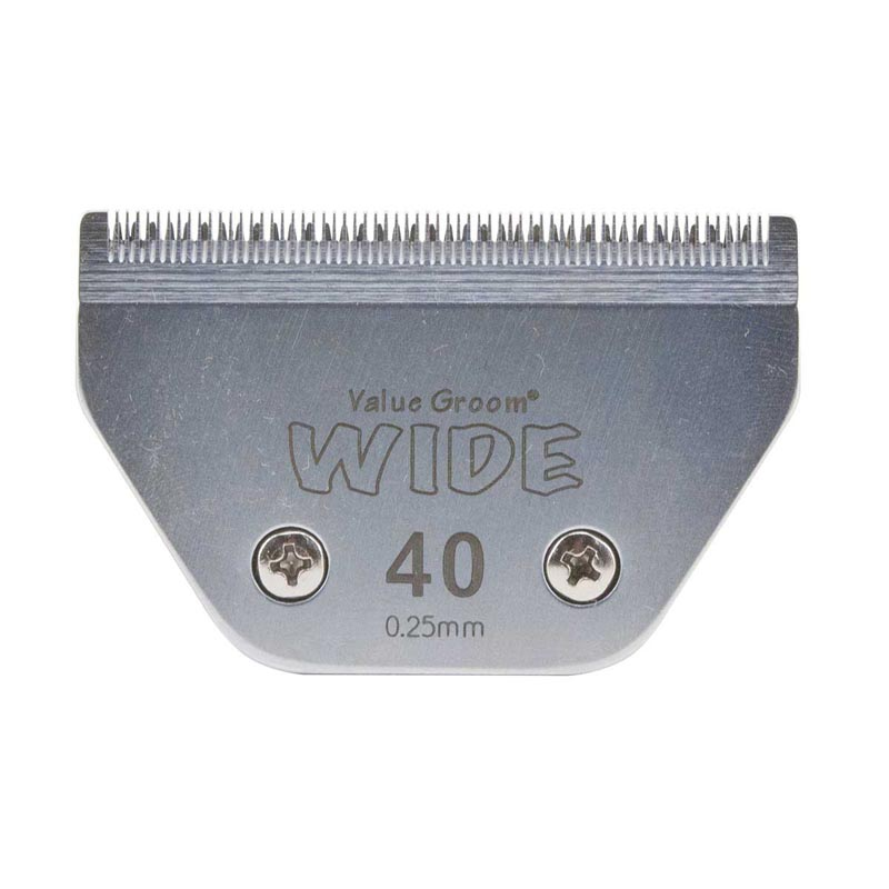 "Value Groom Wide Blade #40W Surgical Cut 1/100"" 0.25 mm"