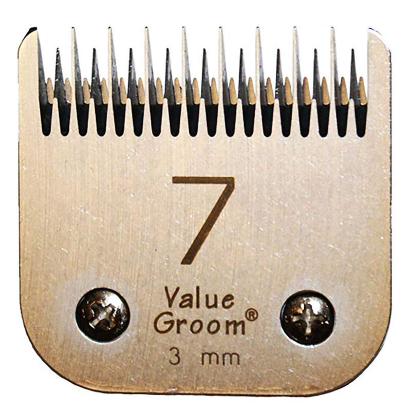 "Value Groom #7 Conventional Blade - Skip Tooth 1/8"" 3 mm"
