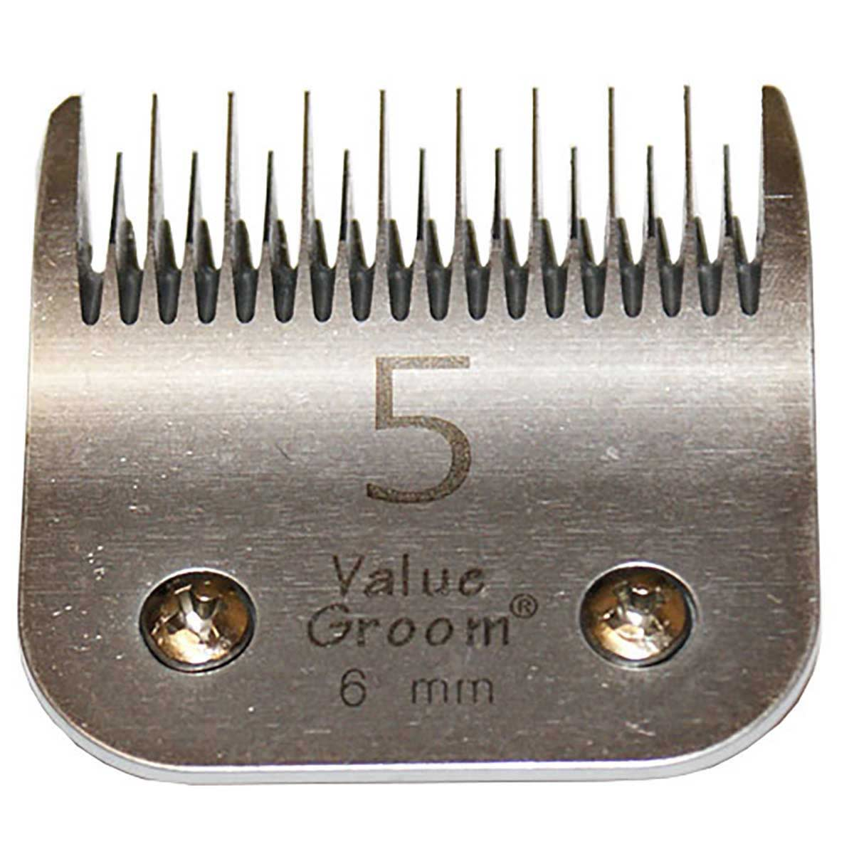 """Value Groom #5 Conventional Blade Skip Tooth 1/4"""" 6 mm"""