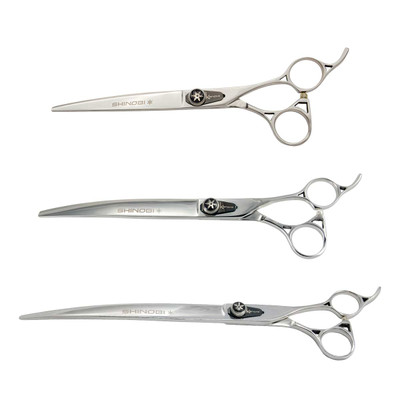 Kenchii Shinobi Curved Grooming Shears